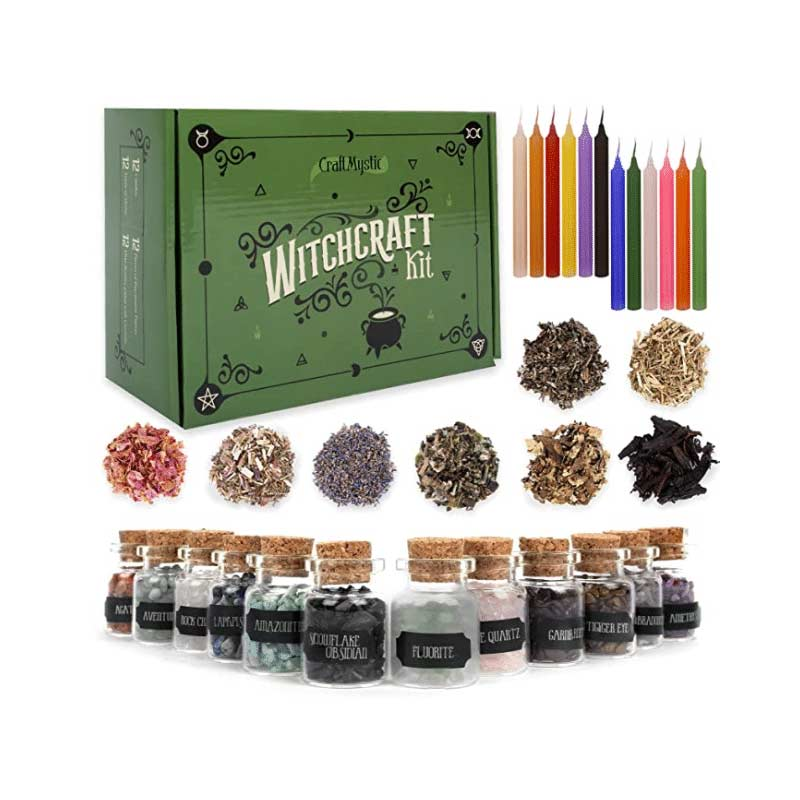 Witchcraft Supply Box for Wiccan Spells