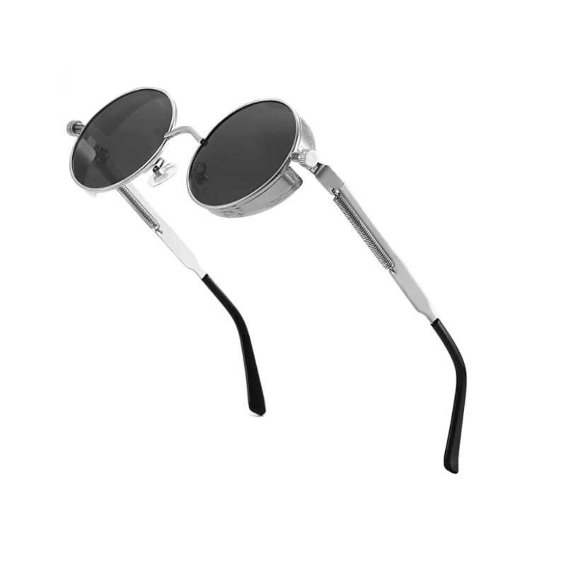 Silver Steampunk Sunglasses