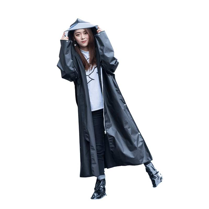 Multifunctional Goth Raincoat