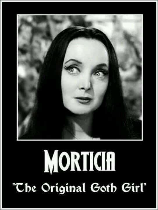the original goth