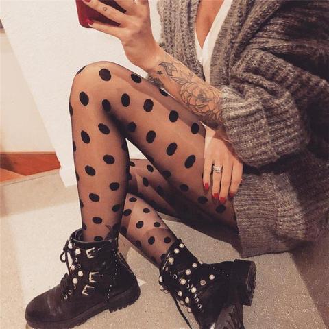girls goth dots clothing