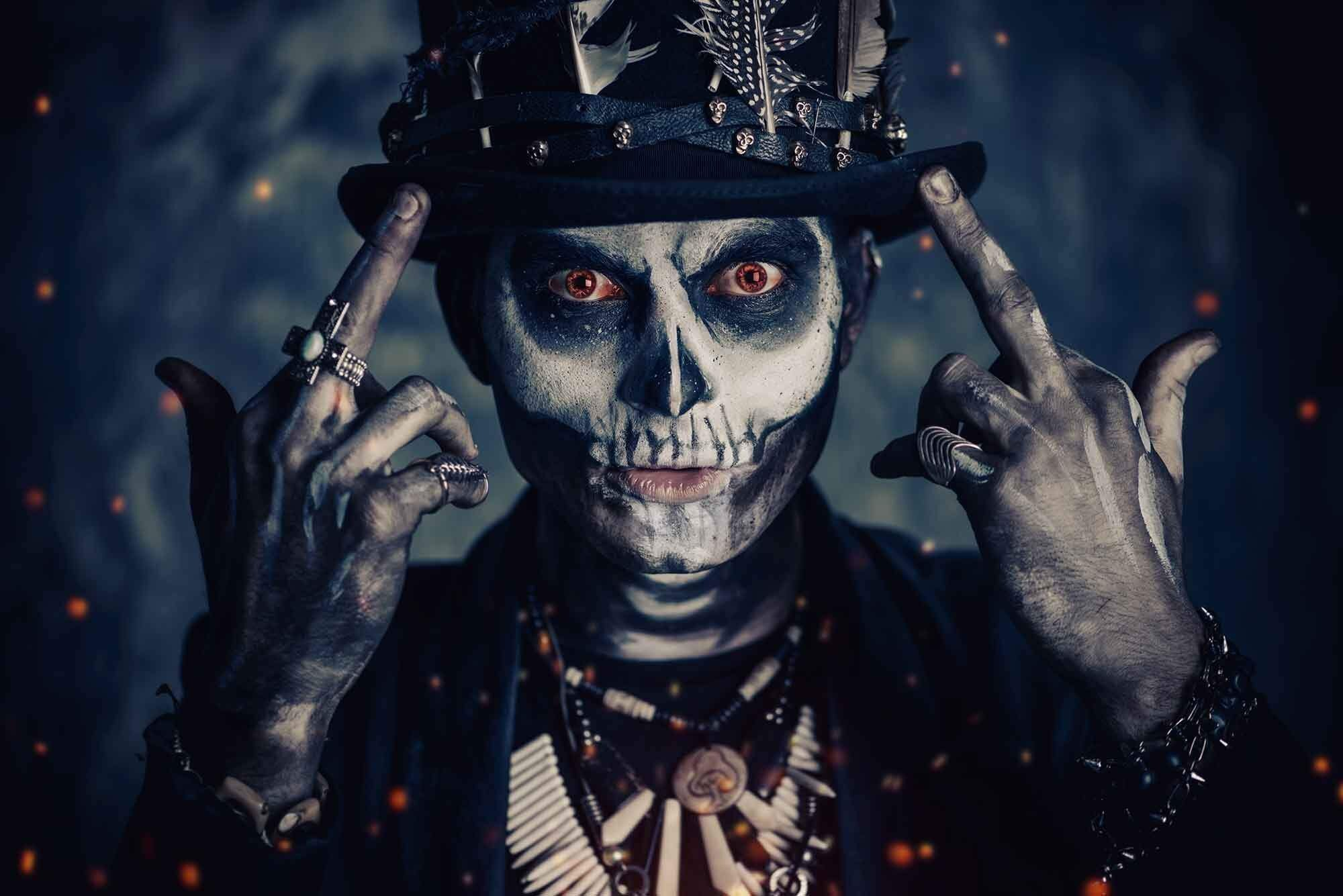 Voodoo & Gothic Themed Clothes and Accessories