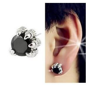 womens mythical crystal dragons earpiece