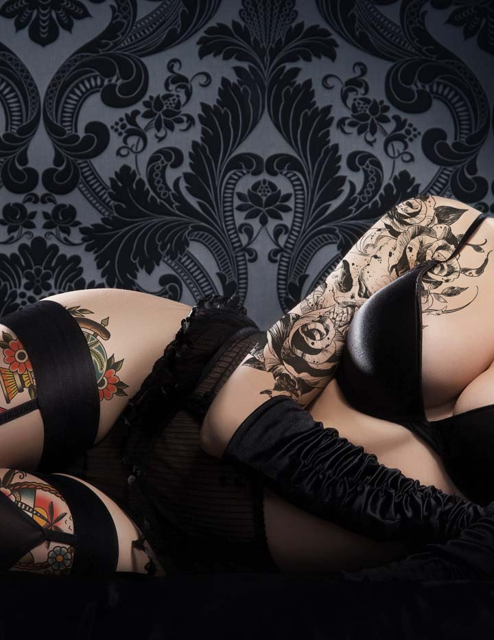 Sexy Goth Lingerie