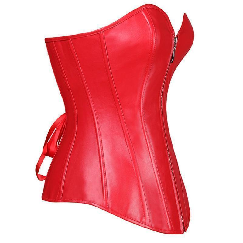 Sexy Blood Red Diana Prince Corsets - Available In Plus Size