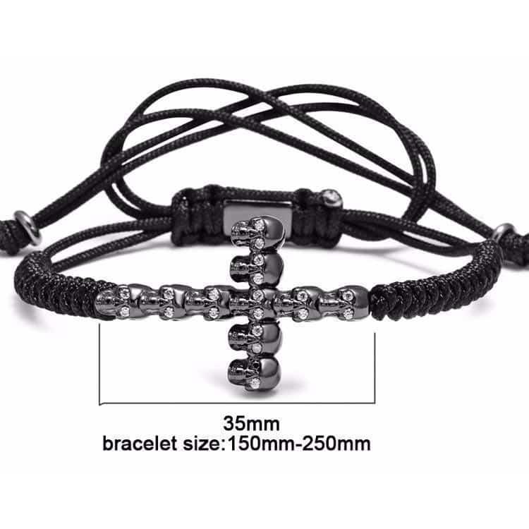 Awesome Handmade Steel Bracelets For Guys - The Black Ravens