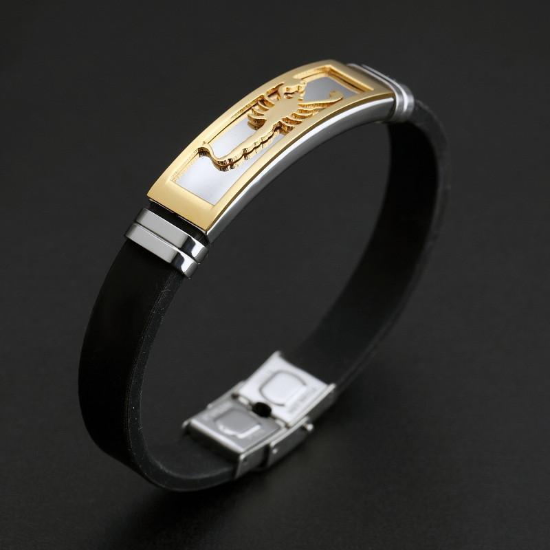 Badass Men's Scorpion Bracelet Charms - The Black Ravens