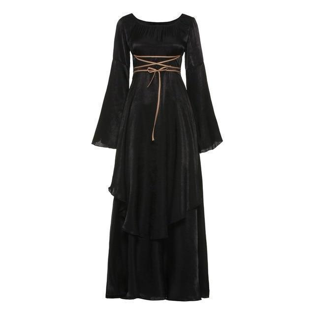 Beautiful Renaissance Ladies' Bandage Dress - The Black Ravens