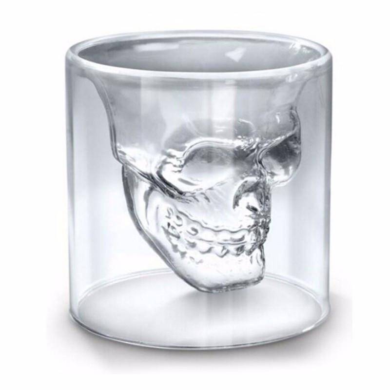 Crystal Skeleton Head Mugs - The Black Ravens