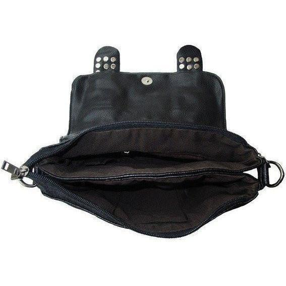 Cute Black Skull Spiked Bag - The Black Ravens