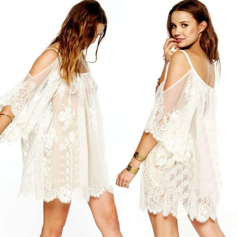 Cute Relaxing Lighter Dress For Hippies - The Black Ravens