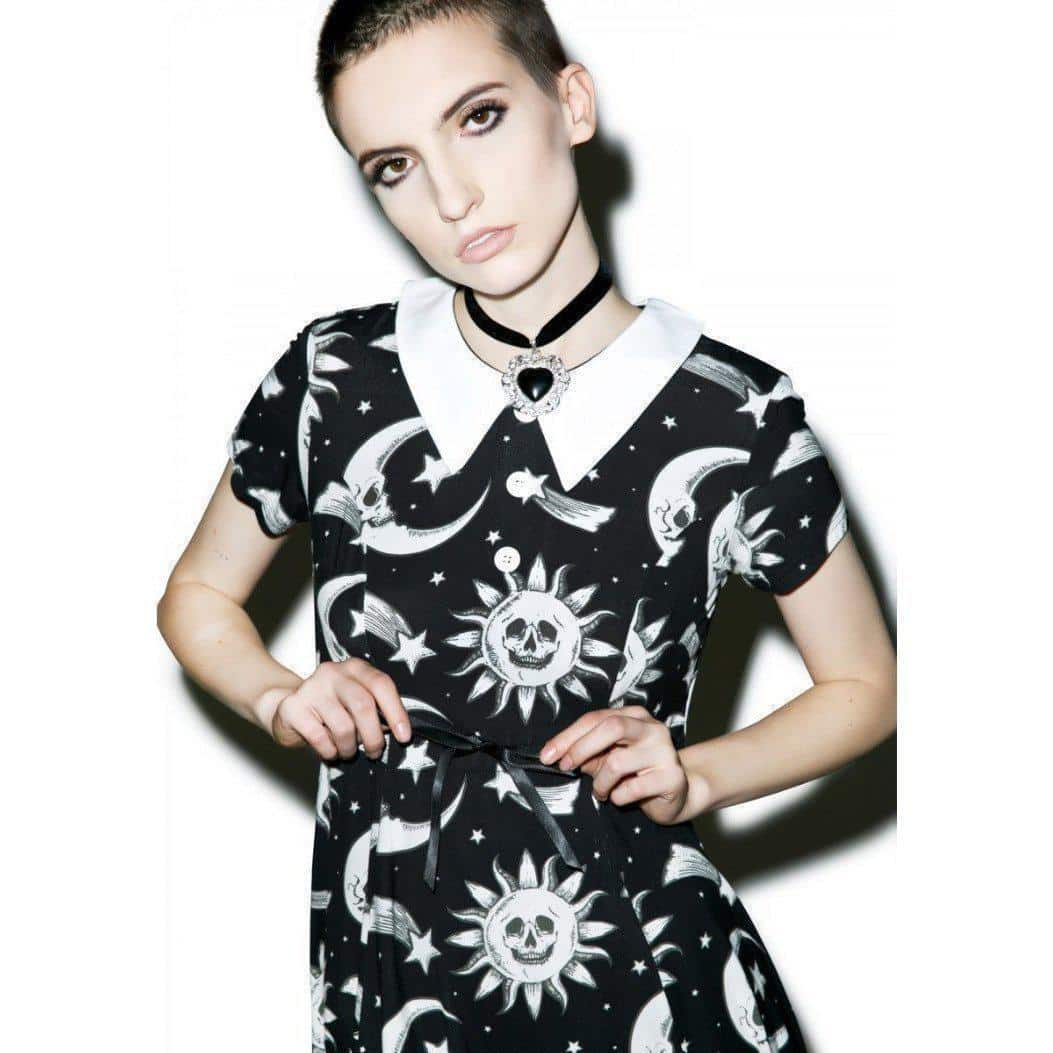 Cute Solar System Outfit For Women - The Black Ravens
