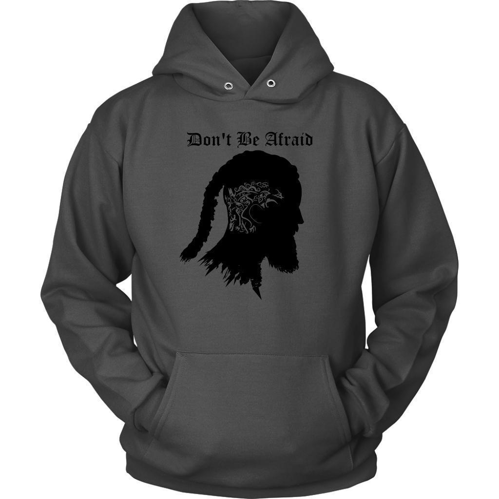 Don't Be Afraid Unisex Top - The Black Ravens