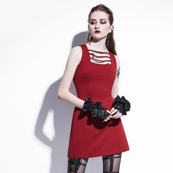 Hot Burgundy Tight Dresses - The Black Ravens