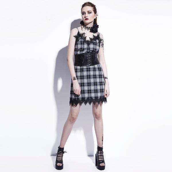 Hot Cute Short Mini Dress - The Black Ravens