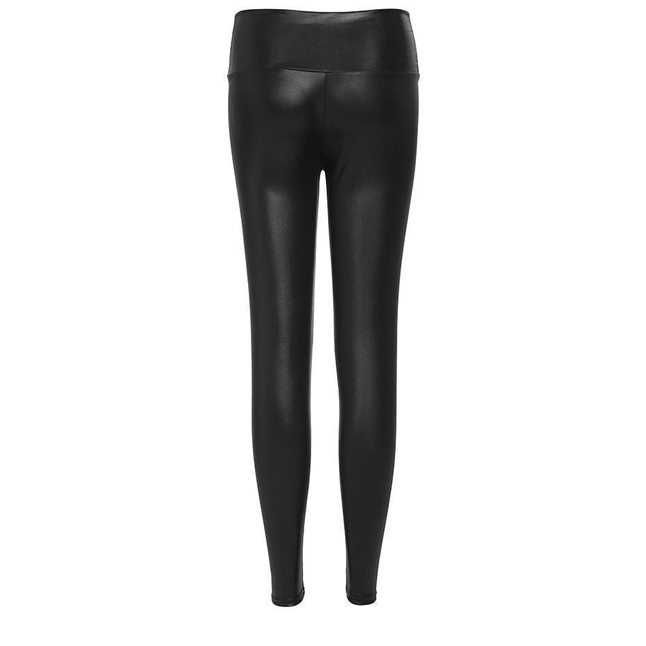 Lace Bandage Stretchy Leggings For Women - The Black Ravens