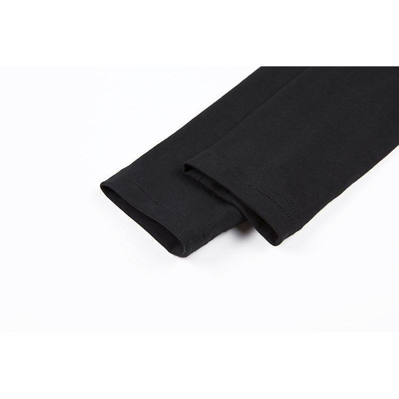 Ladies' Black Casual Rings Shirt - The Black Ravens