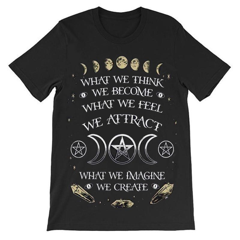 Moon Phase Punk Statement Unisex Shirt - The Black Ravens