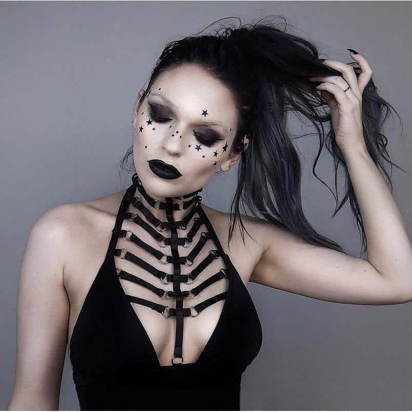 Queen Bandage Body Harness Bra Garter - The Black Ravens