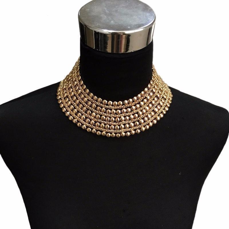 Rose Gold Choker Pendant For Women - The Black Ravens