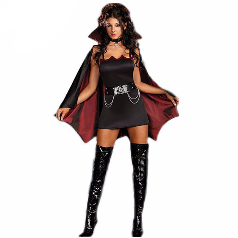Scary and Hot Girls Dracula Dress Up - The Black Ravens