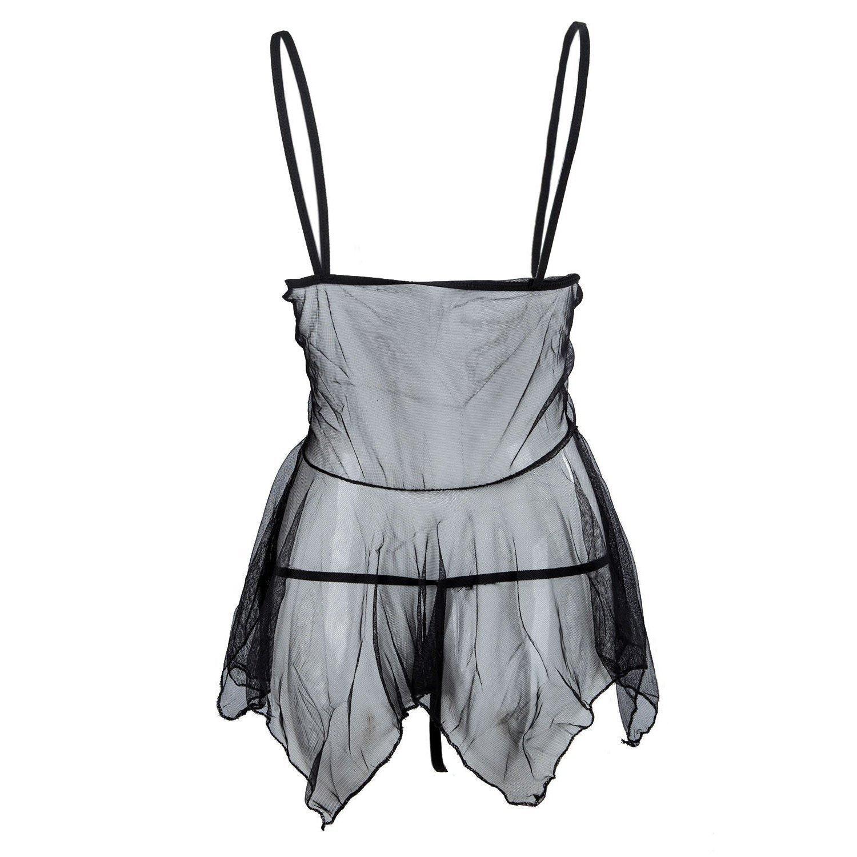 Sexy Lace Chemise Lingerie Set - The Black Ravens