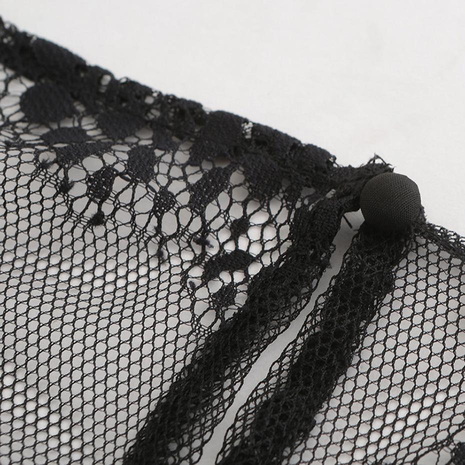 Sexy Lace Pullover Gothic T-Shirt For Girls - The Black Ravens