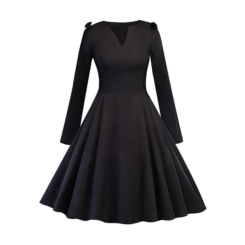 Sexy Vintage Style Gothic Dress - The Black Ravens