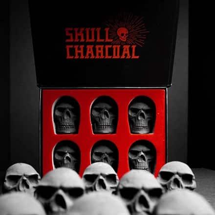 Skull Charcoal - The Black Ravens