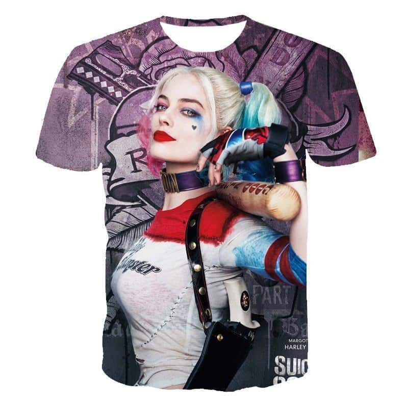 Suicide Squad's Margot Robbie Shirt For Men and Women - The Black Ravens