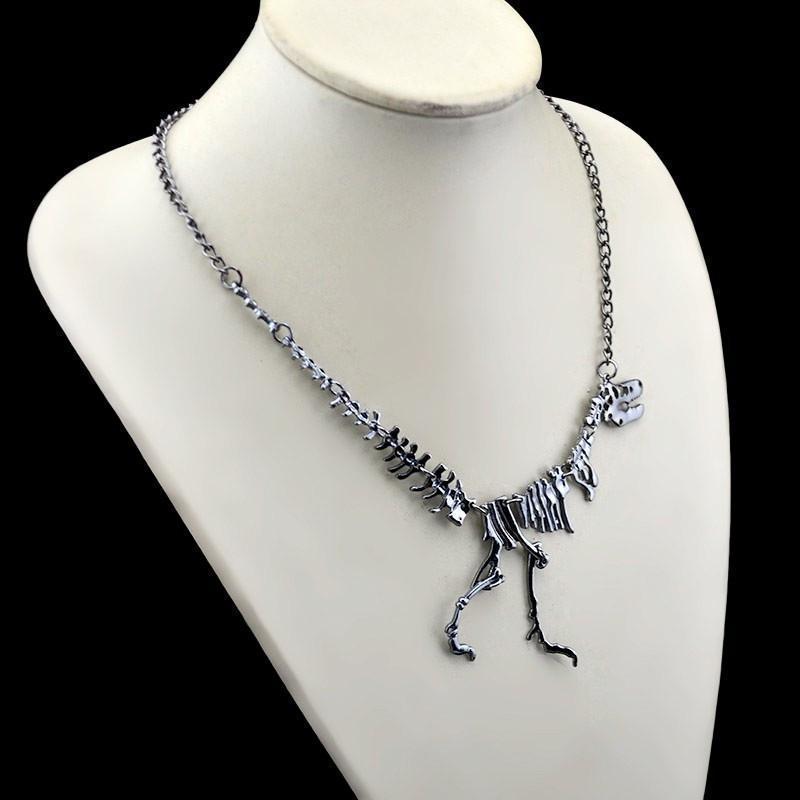 Tyrannosaurus Rex Skeleton Choker Necklaces - The Black Ravens