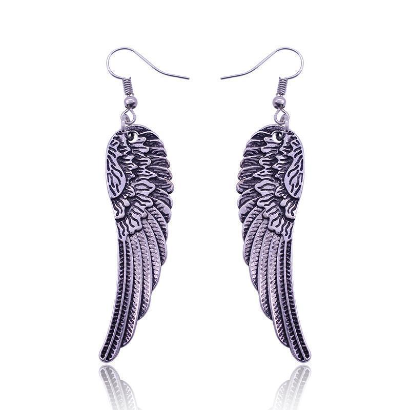 Women's Beautiful Angelic Studs - The Black Ravens
