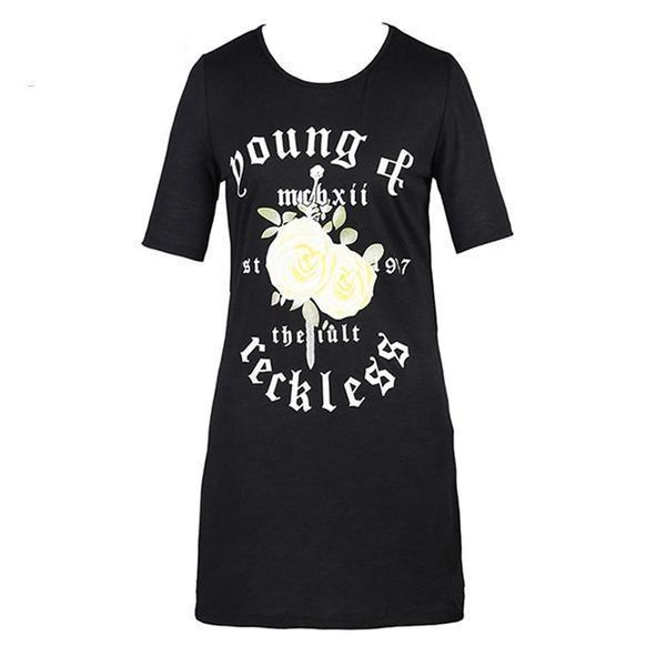 Young and Reckless Punk Pullover - The Black Ravens